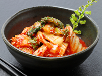 キムチは乳酸菌を多く含む食品